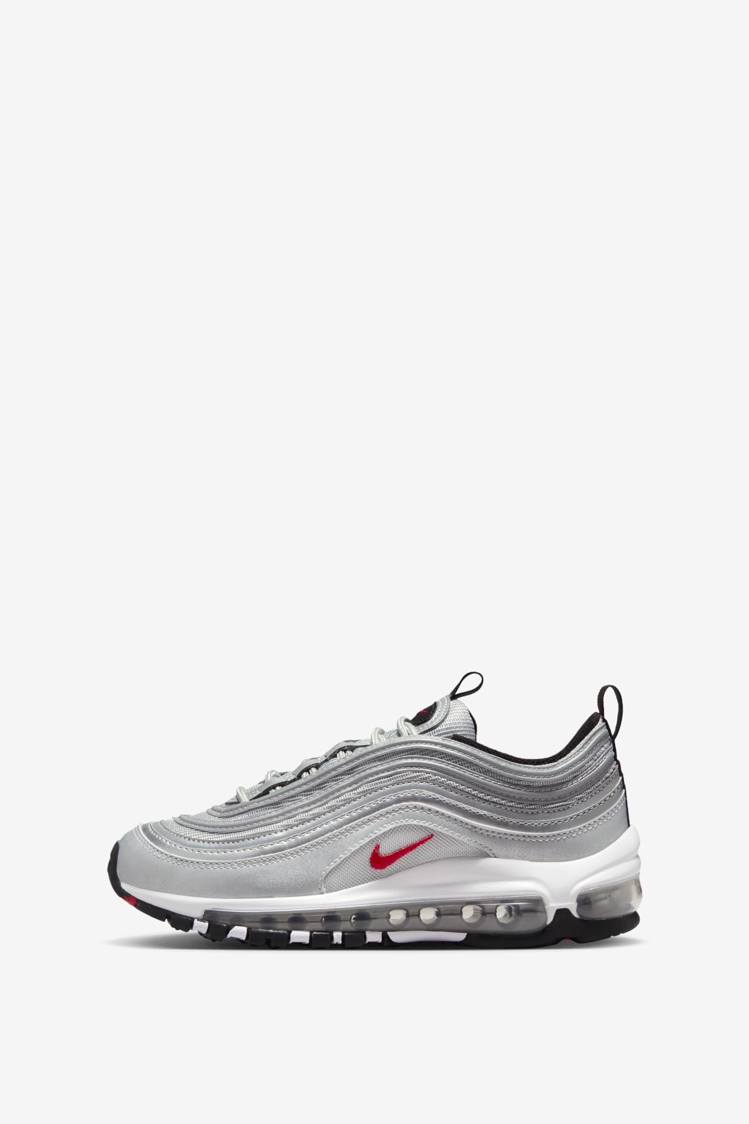 864b4004d3 Nike Air Max 97 OG 'Metallic Silver'. Nike+ SNKRS