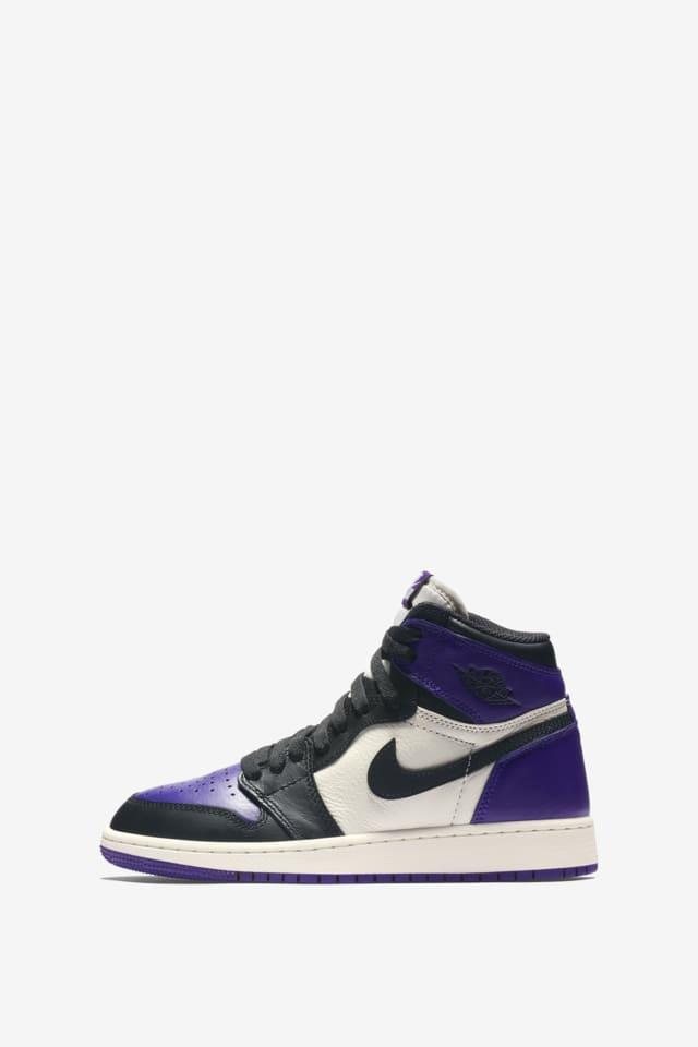 Air Jordan 1 Retro 'Court Purple