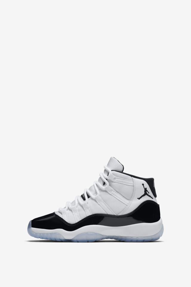 Paja Mal uso Limo  Air Jordan 11 Concord 'White & Black' Release Date. Nike SNKRS GB