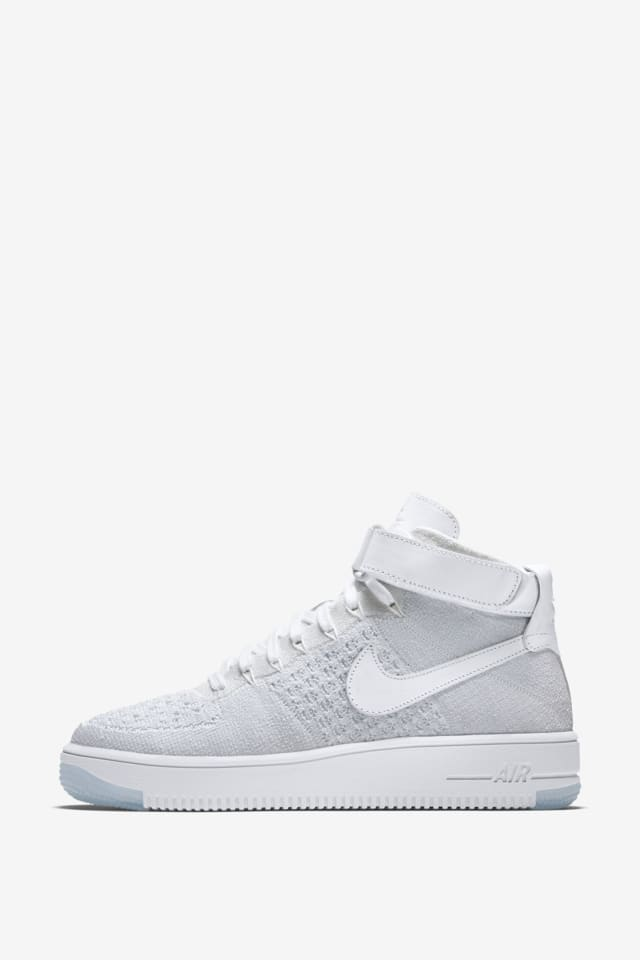 nike air force 1 flyknit donna bianco