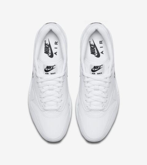 Air Max 1 Premium Jewel 'White & Black' Release Date. Nike SNKRS