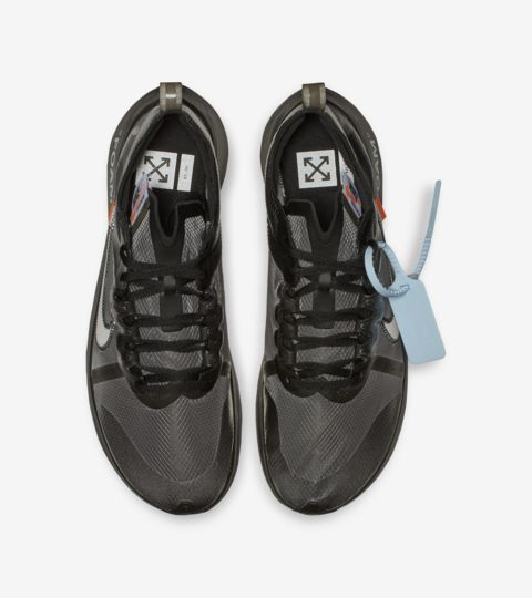 Where To Buy Off White Nike Zoom Fly Black White Cone