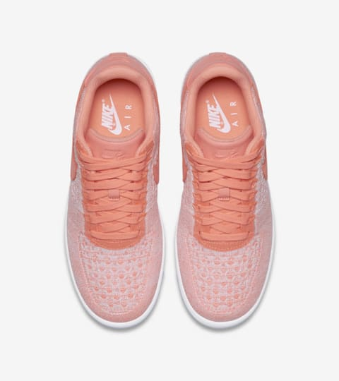 air force flyknit rosa