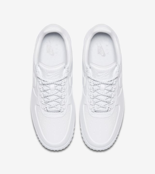 Nike Lunar Force 1 Duckboot Low 'Triple White' Release Date