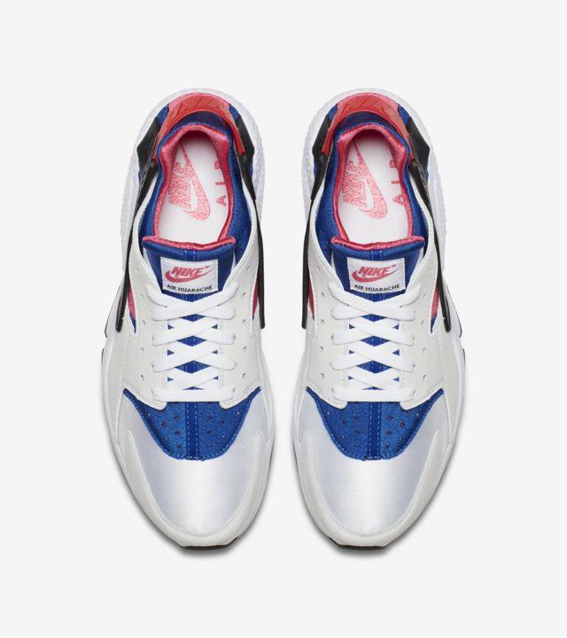 Nike Air Huarache Run '91 'White & Game Royal' Release Date