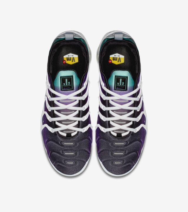 Nike Air Vapormax Plus Branco e Roxo Fierce – Data de