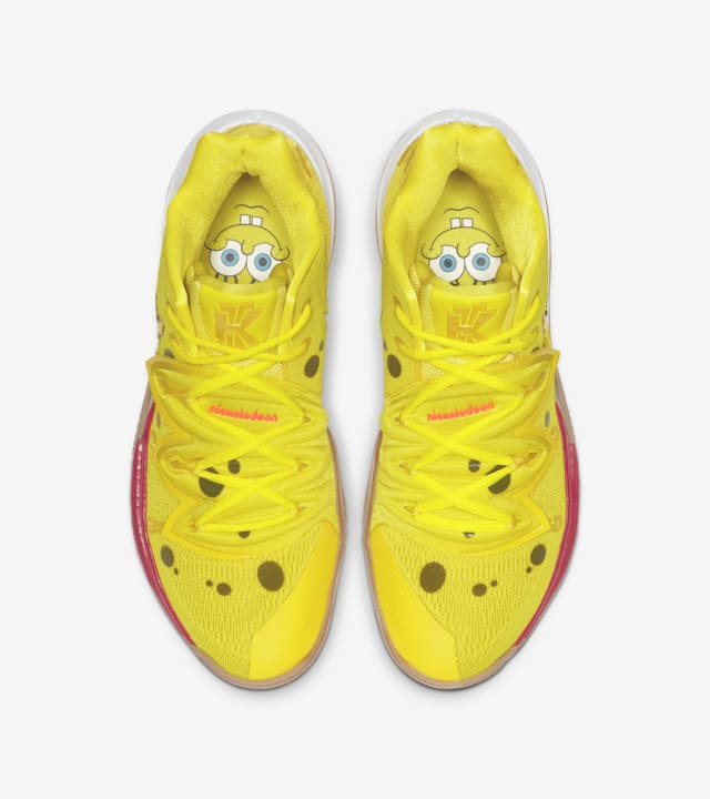 Kyrie 5 'SpongeBob SquarePants' Release