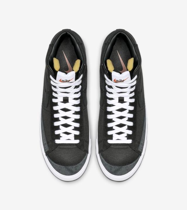 Nike Blazer Mid '77 'Black Canvas