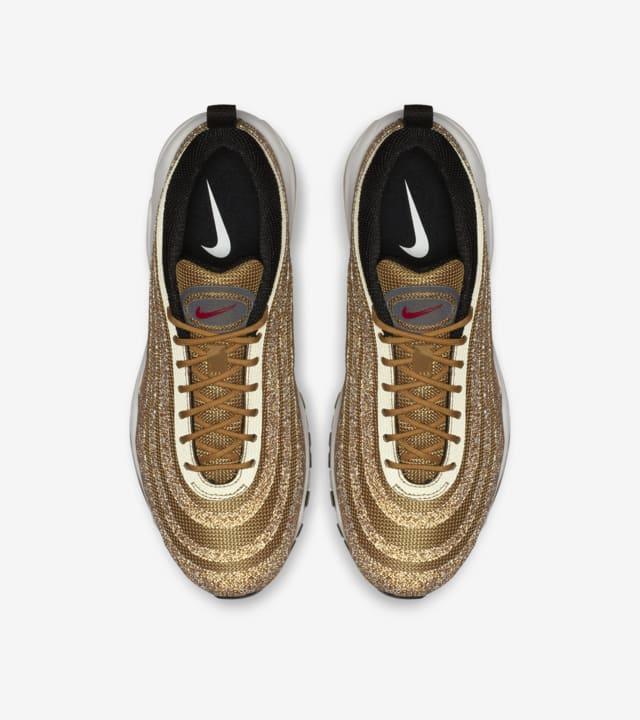 """Damskie Nike Air Max 97 """"Gold Swarovski Crystal"""" – data"""