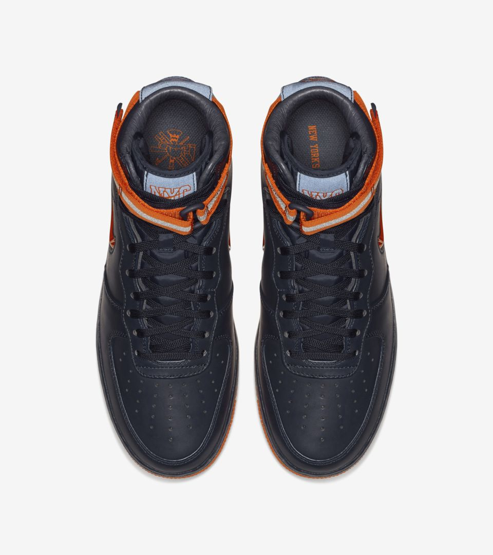 Date Brilliant Nike 1 Hi Orange' 'obsidianamp; Force Air Release jR435AL