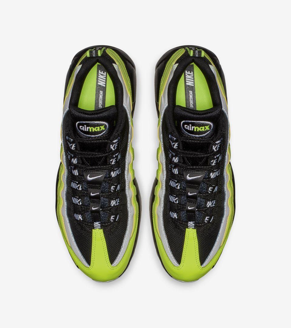 separation shoes 425d2 7212c ... Release Date Nike Air Max 95 Premium  Volt   Volt Glow   Black  ...