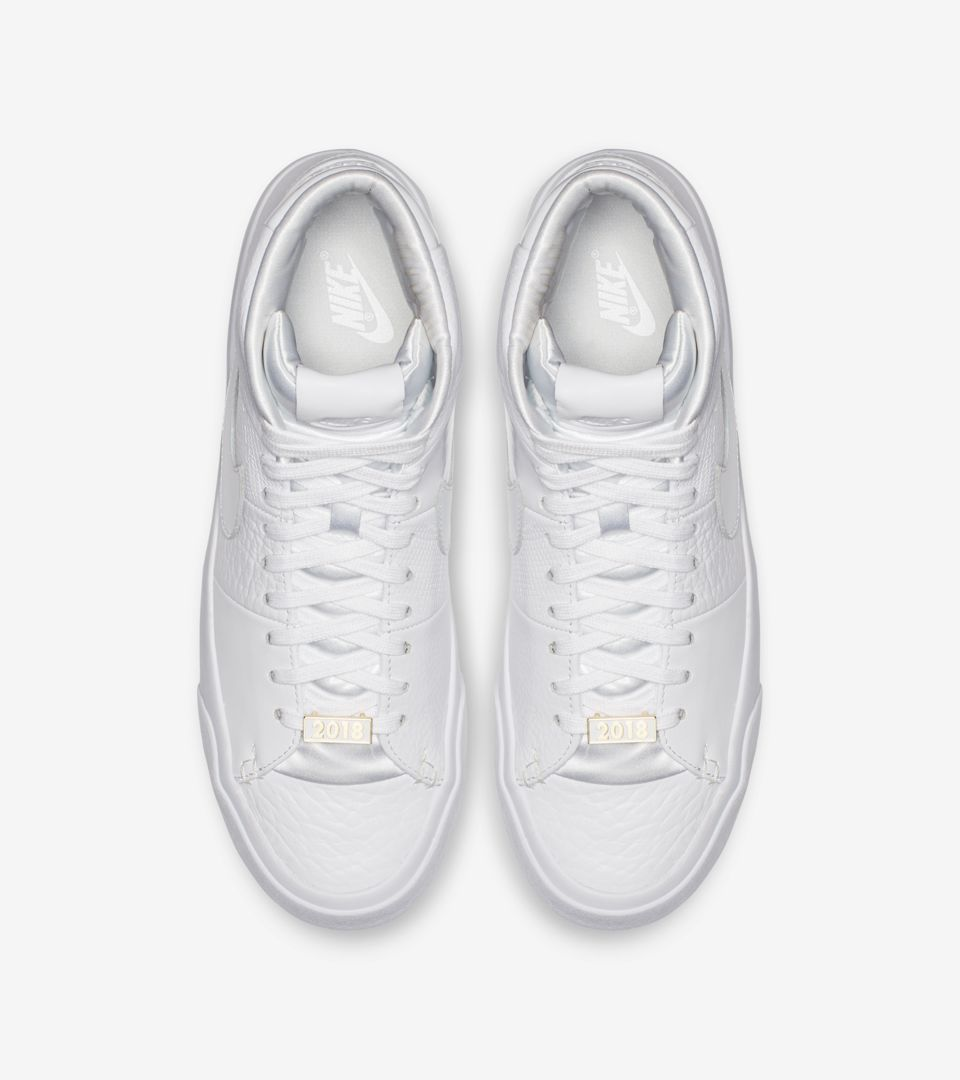 Nike Blazer Royal Qs 'Triple White' Release Date