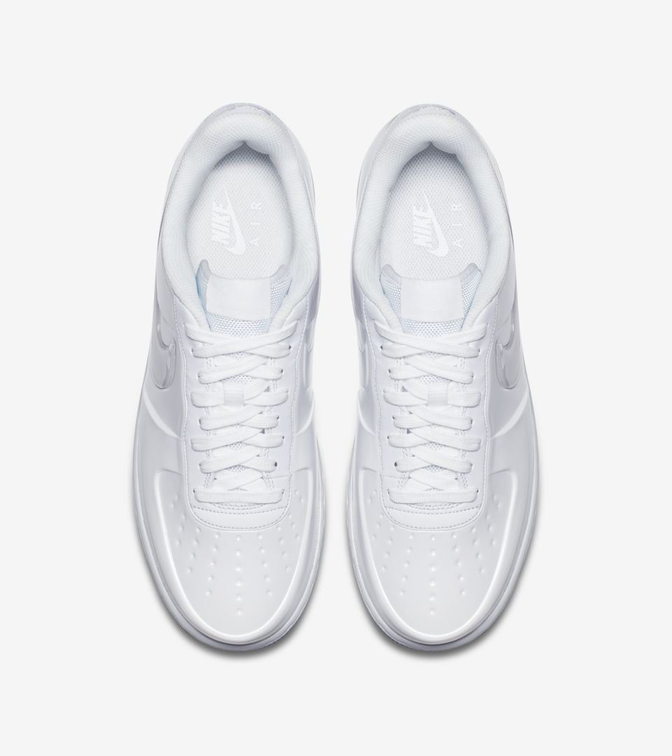 the best attitude db0d3 a4c94 Nike Air Force 1 Foamposite Pro Cup 'Triple White' Release ...