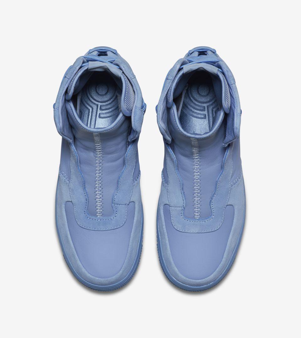 030c17125d7e Nike Women s Air Force 1 Rebel XX  Light Blue  Release Date. Nike+ ...