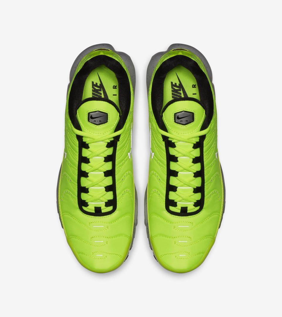 Nike Air Max Plus Premium 'Full Volt & Matte Silver' Release