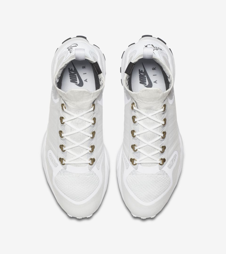 28fc1d458a3c5 Nike Air Zoom Talaria Mid Flyknit  White . Nike+ SNKRS