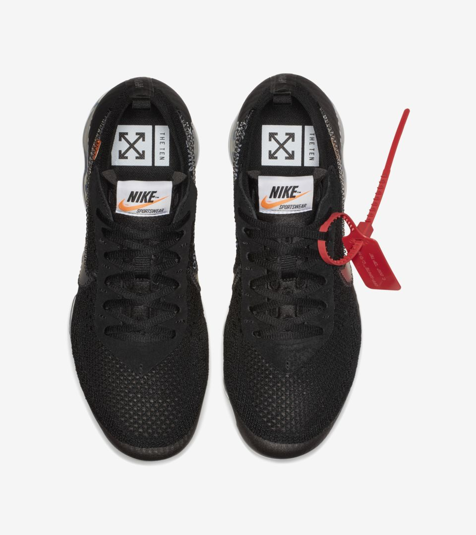 eebb8704af8e5 Nike The Ten Air Vapormax Off-White  Black  Release Date. Nike⁠+ SNKRS