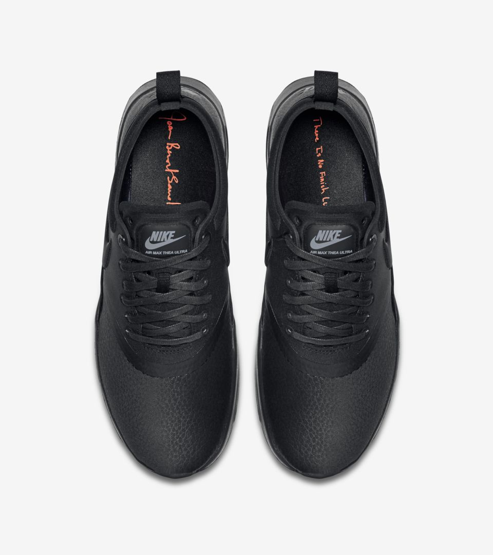 2e5636e245 Women's Nike Air Max Thea Ultra Premium 'Triple Black'. Nike⁠+ Launch GB