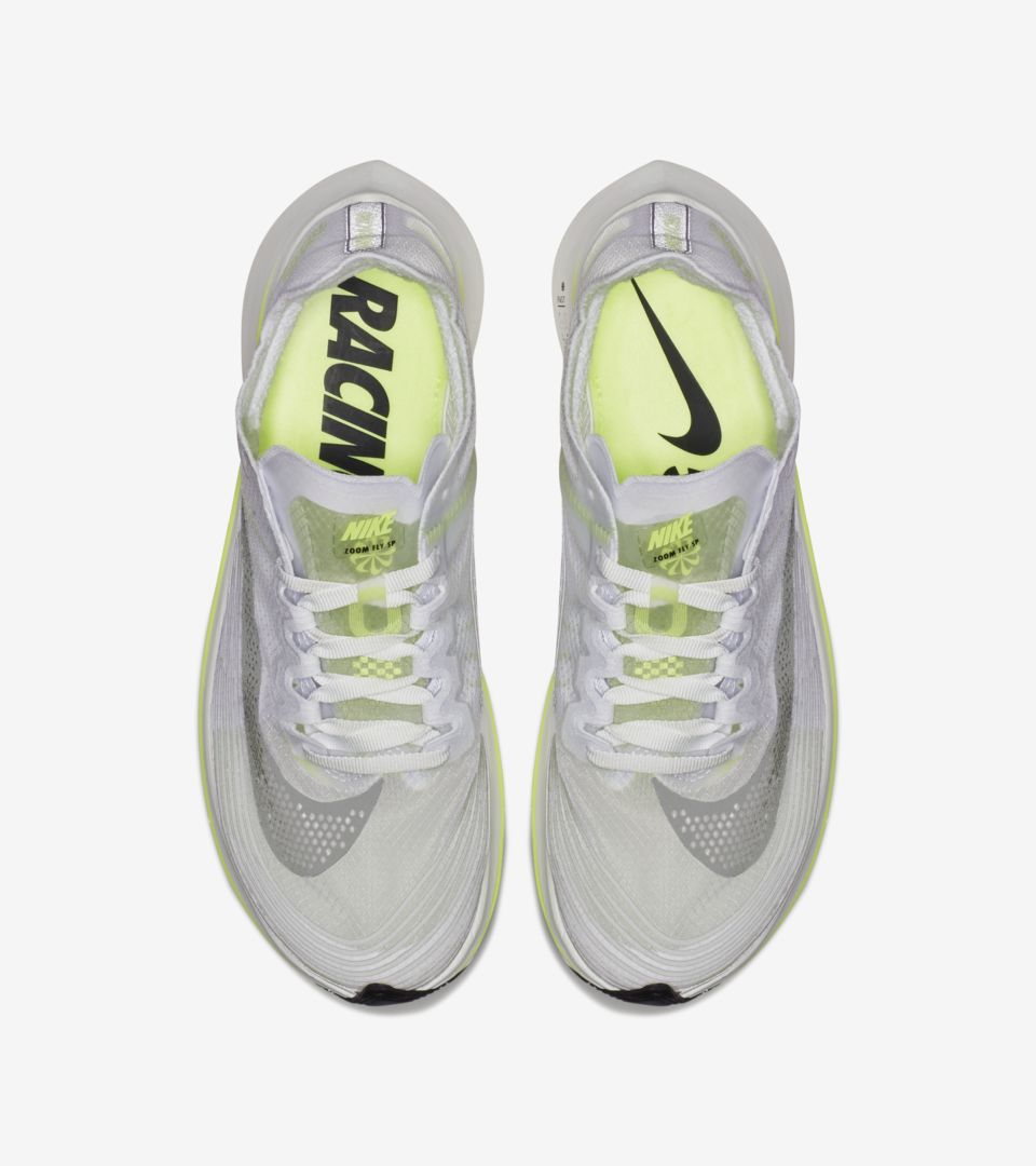 34cfd4a29655 Nike Women s Zoom Fly SP  White   Volt Glow  Release Date. Nike+ SNKRS