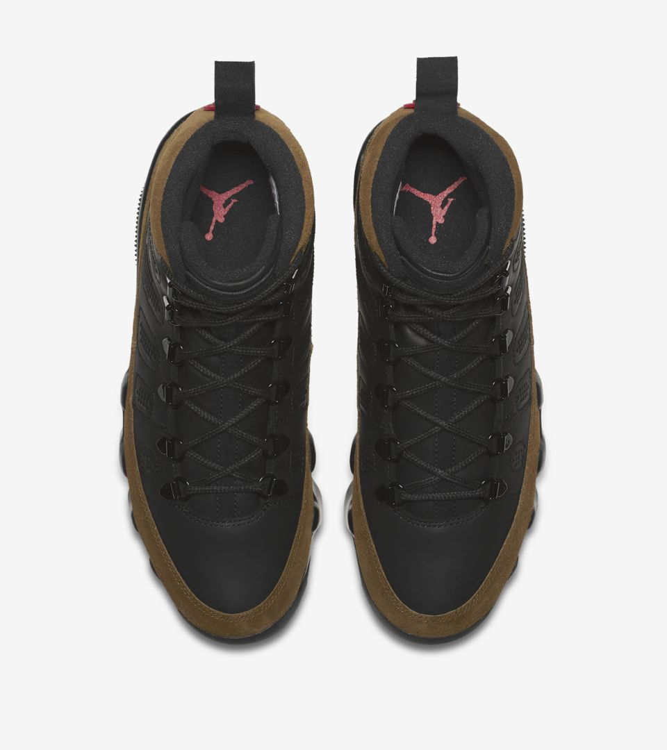 26885ee1a26 Air Jordan 9 Retro Boot NRG 'Black & Light Olive' Release Date. Nike ...