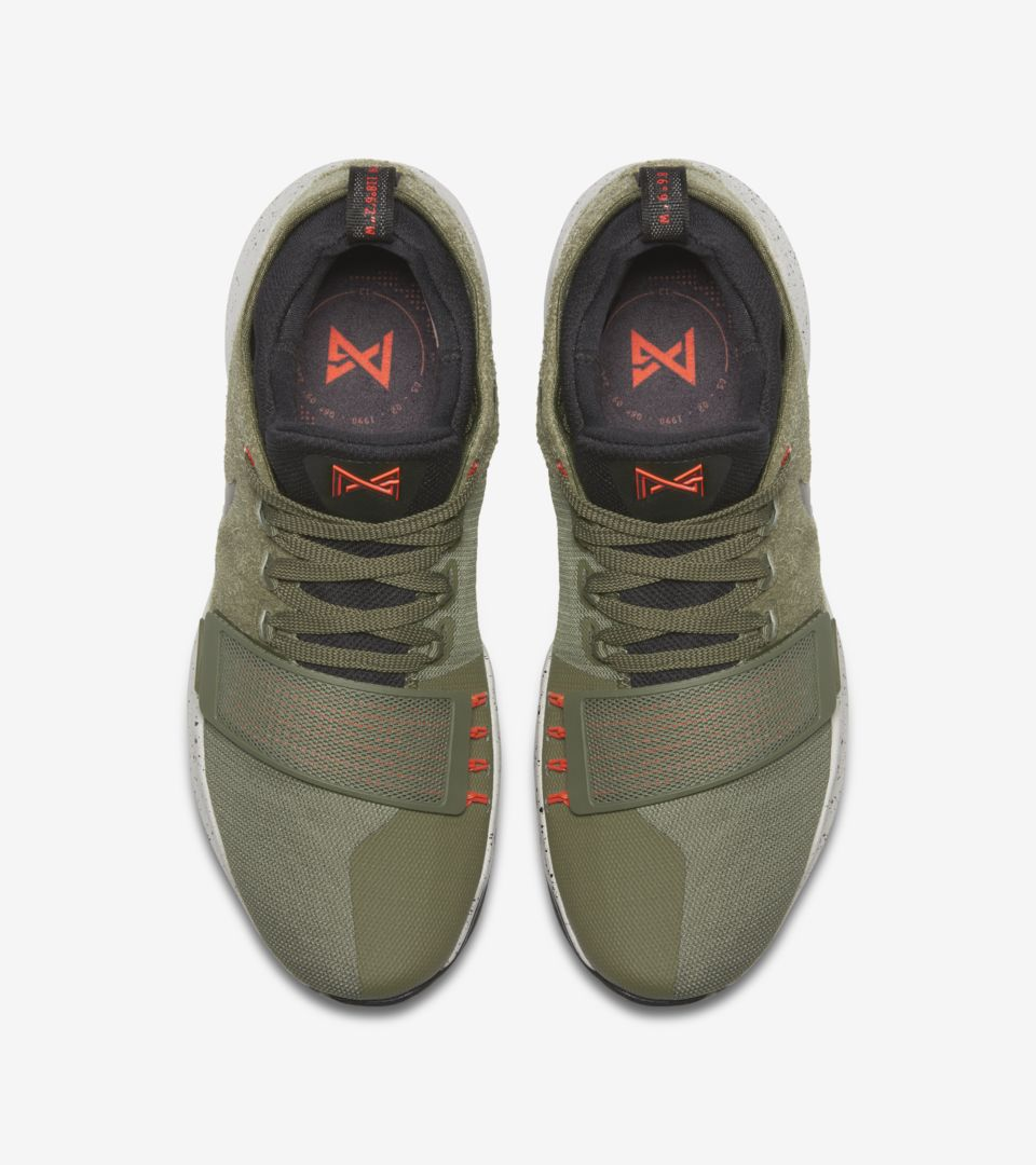 5ad720deb433 Nike PG1 Elements  Medium Olive   Black  Release Date. Nike⁠+ SNKRS