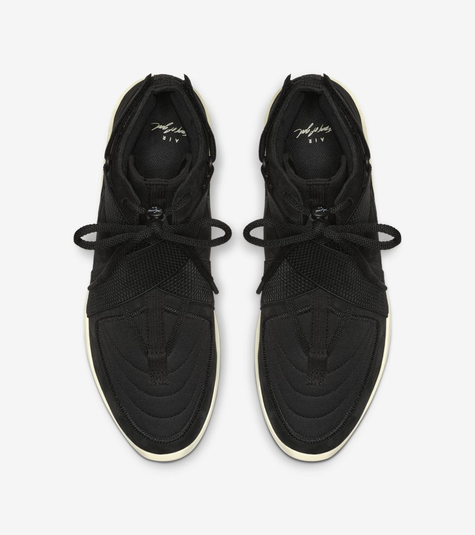Air Fear Of God Raid 'Black/Fossil' Release Date
