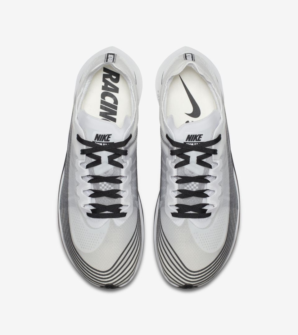 95715b15a320 Nike Zoom Fly  Black   Summit White  Release Date. Nike+ SNKRS