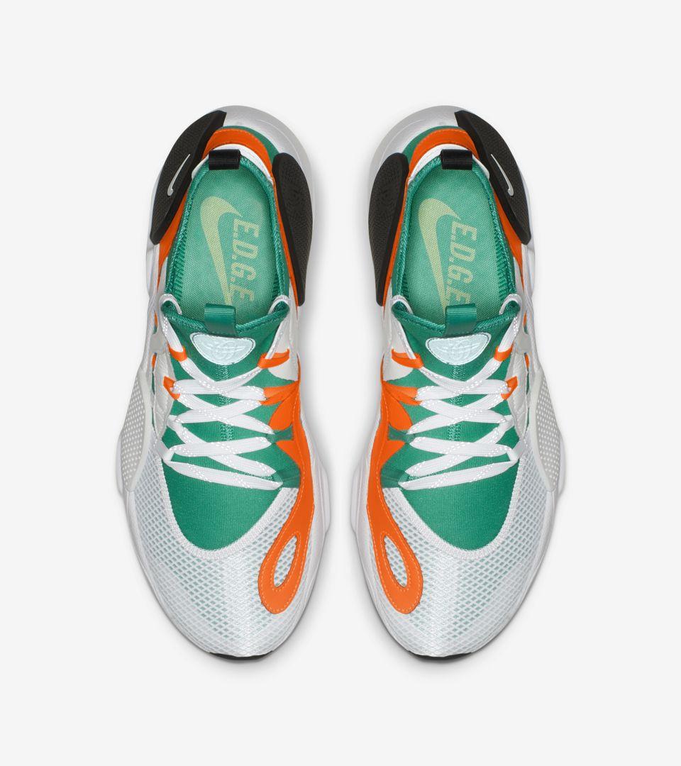 Nike Huarache E.D.G.E. TXT QS \u0027White \u0026 Clear Emerald \u0026 Total