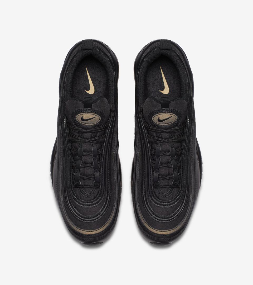 Nike Air Max 97 Premium 'Black & Gold' Release Date. Nike SNKRS