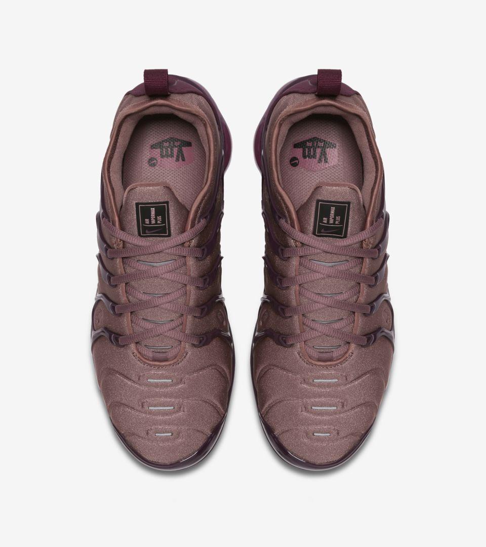3e5b7e19ea7 Women s Air Vapormax Plus  Smokey Mauve   Bordeaux  Release Date. Nike+  SNKRS