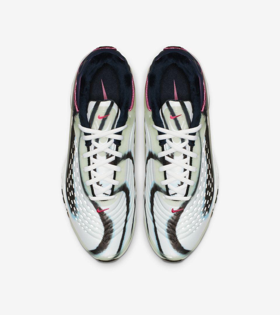3509db6b1615dc Nike Air Max Deluxe  Enamel Green   Obsidian  Release Date . Nike+ ...