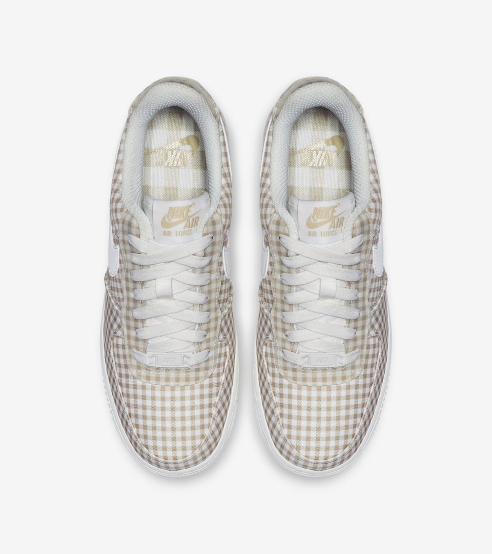 Women's Air Force 1 'Sail Gingham' Release Date