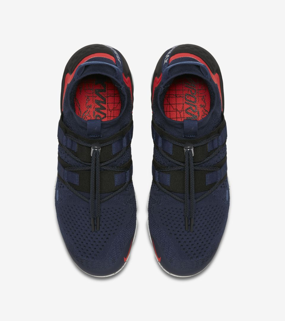separation shoes 04689 09304 Nike Air Vapormax Utility 'College Navy & Habanero Red ...