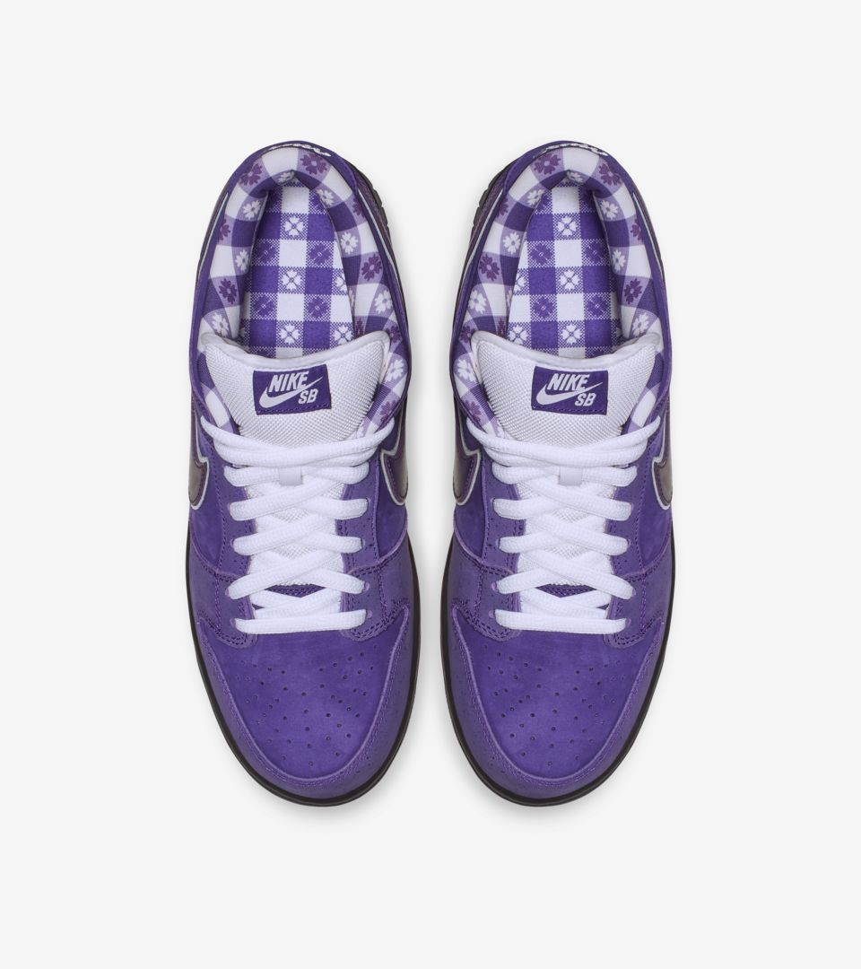 newest 5f271 daea6 ... best price nike sb dunk low pro purple lobster release 93e11 0270f