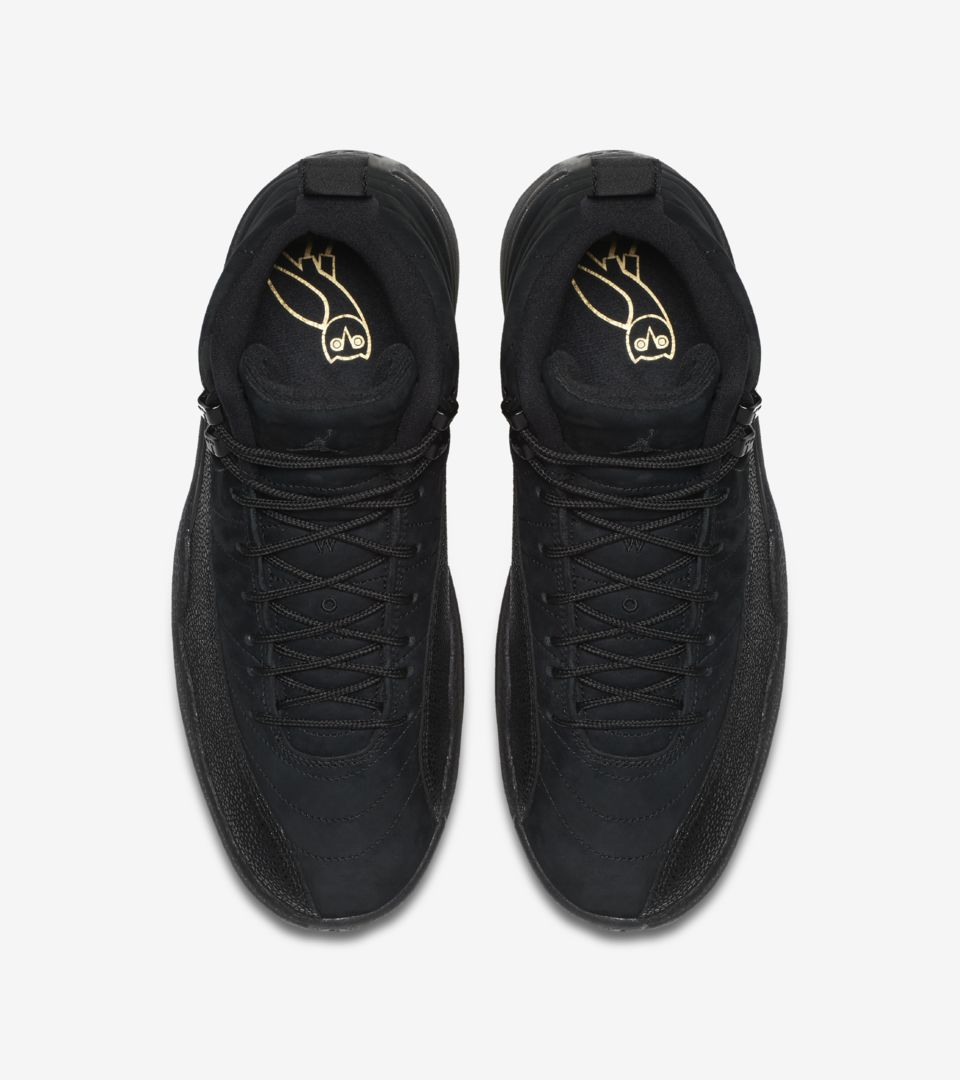 536f024729c5 Air Jordan 12 Retro OVO  Black   Metallic Gold . Nike⁠+ SNKRS