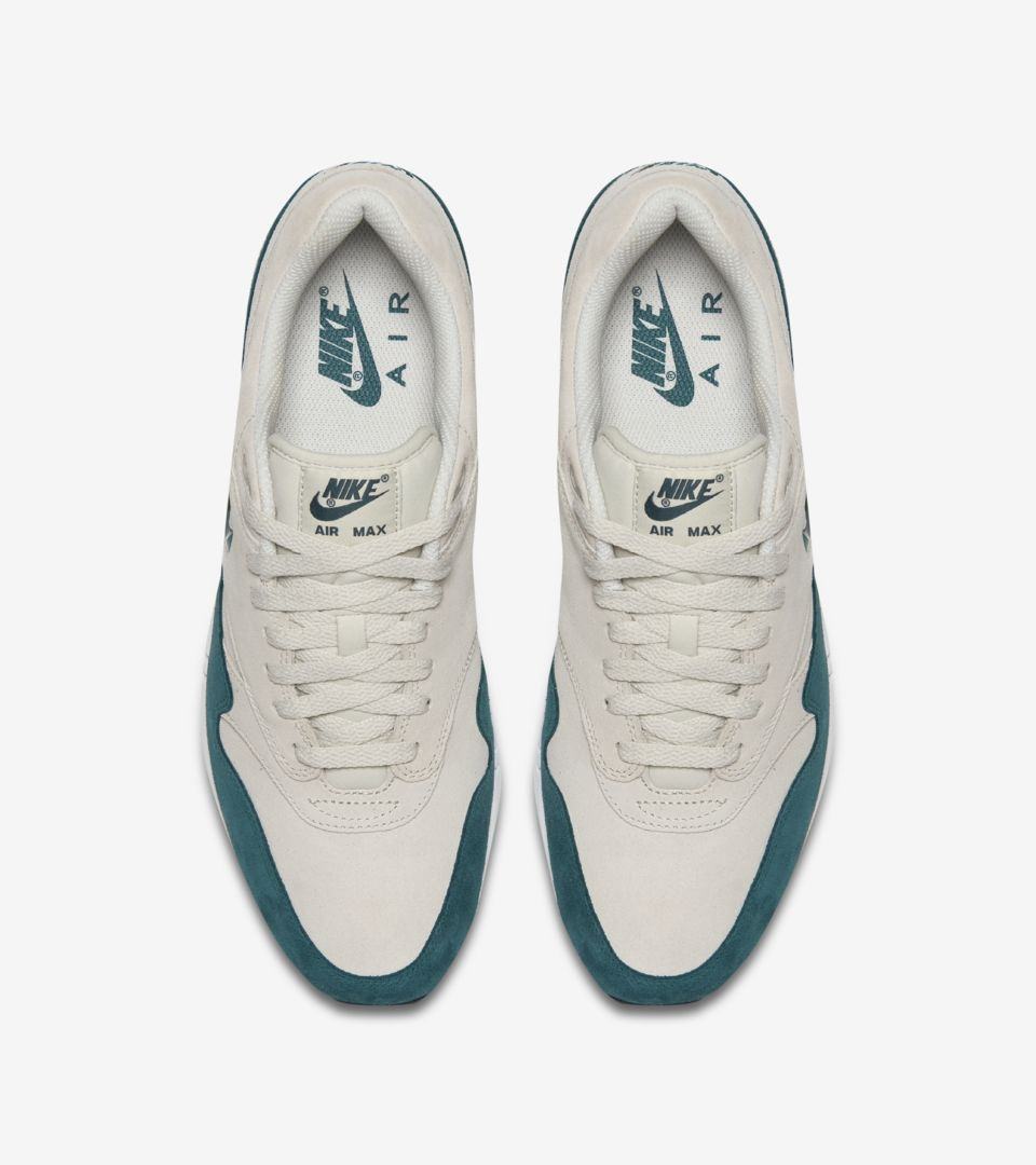 6f1f84fbd537 Nike Air Max 1 Premium  Emerald Green . Nike⁠+ Launch GB
