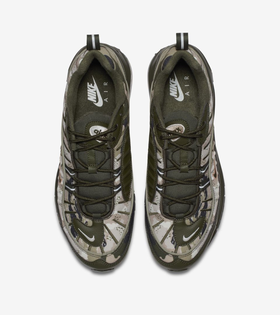 reputable site 1fd4b 692f9 ... Nike Air Max 98  Cargo Khaki   Sunset Tint  ...