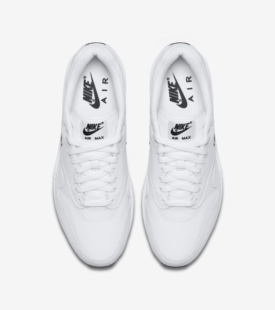 Air Max 1 Premium Jewel 'White & Black' Release Date. Nike