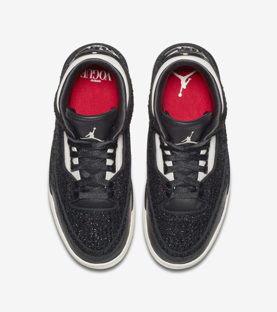 sports shoes 9465d 4c28a Women's Air Jordan 3 AWOK 'Black & Sail' Release Date. Nike ...