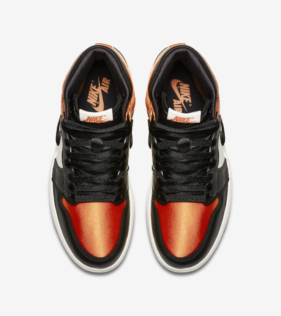 official photos 95f94 3fbc2 Women's Air Jordan 1 'Satin Shattered Backboard' Release ...