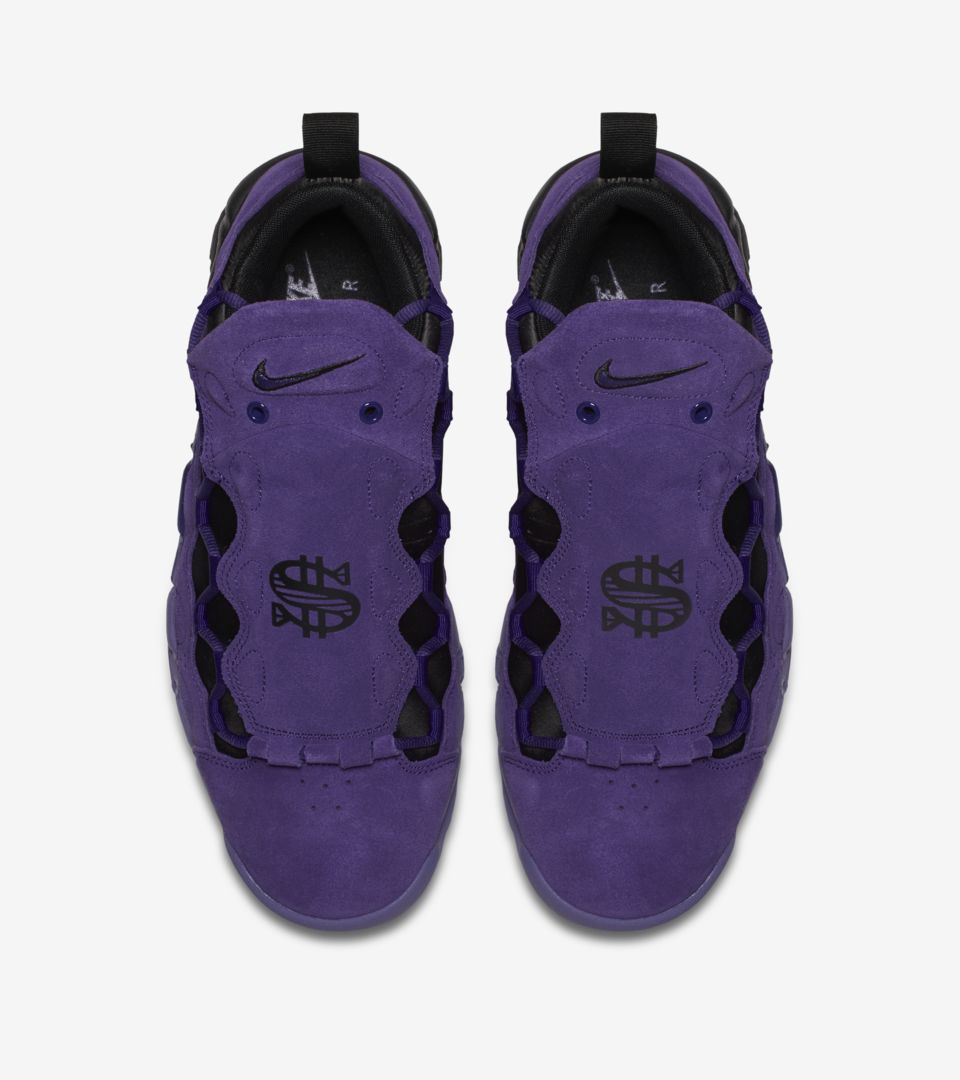 8671bd28f Nike Air More Money 'Court Purple & Black' Release Date. Nike+ SNKRS