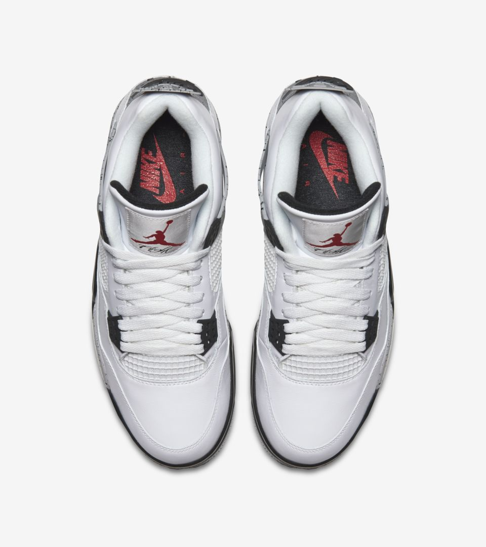 cheap for discount 62961 52703 Air Jordan 4 Retro 'White Cement Grey' Release Date. Nike⁠+ SNKRS