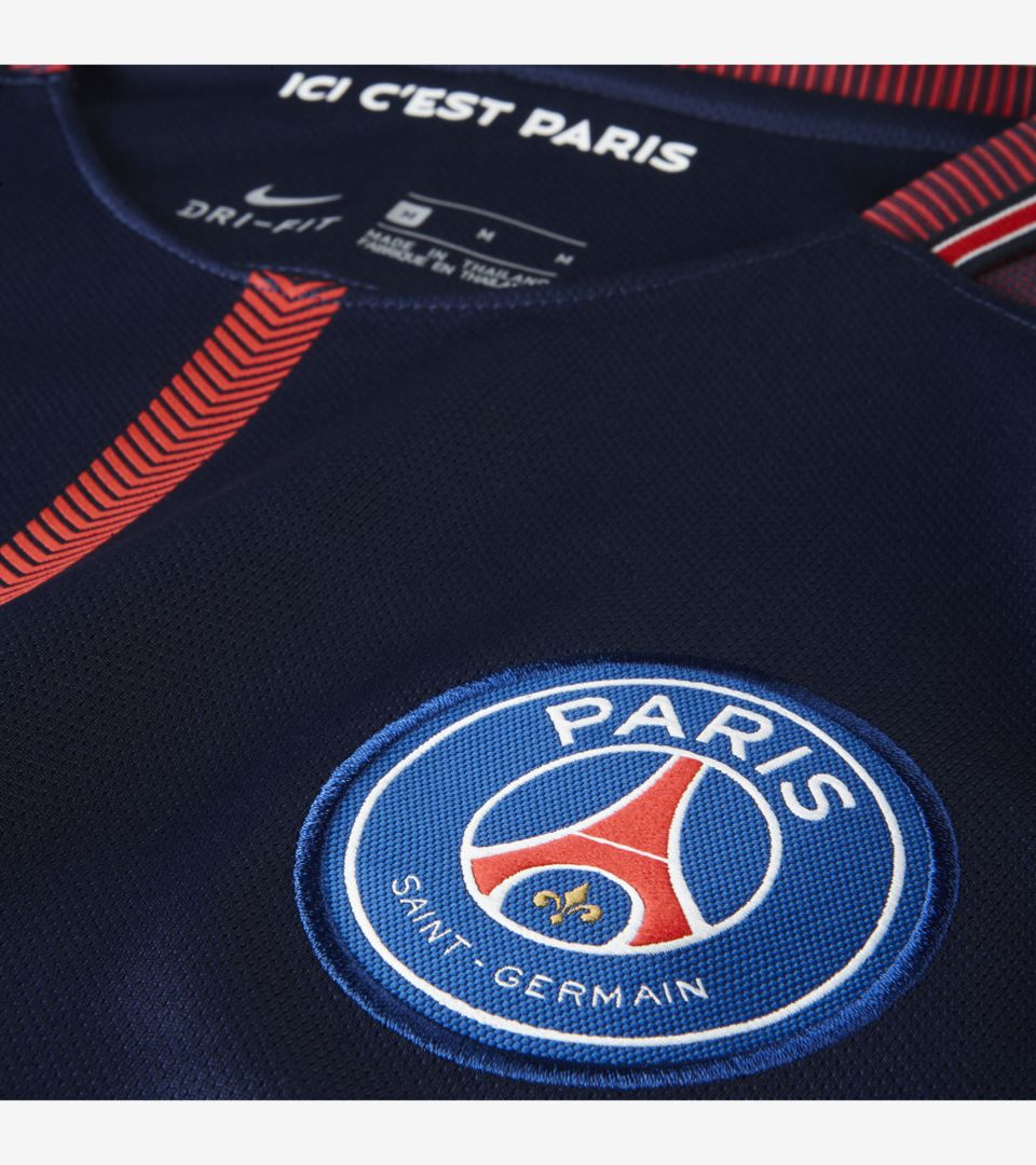 2017-2018 Paris-Saint-Germian Limited Edition Stadium Home Kit