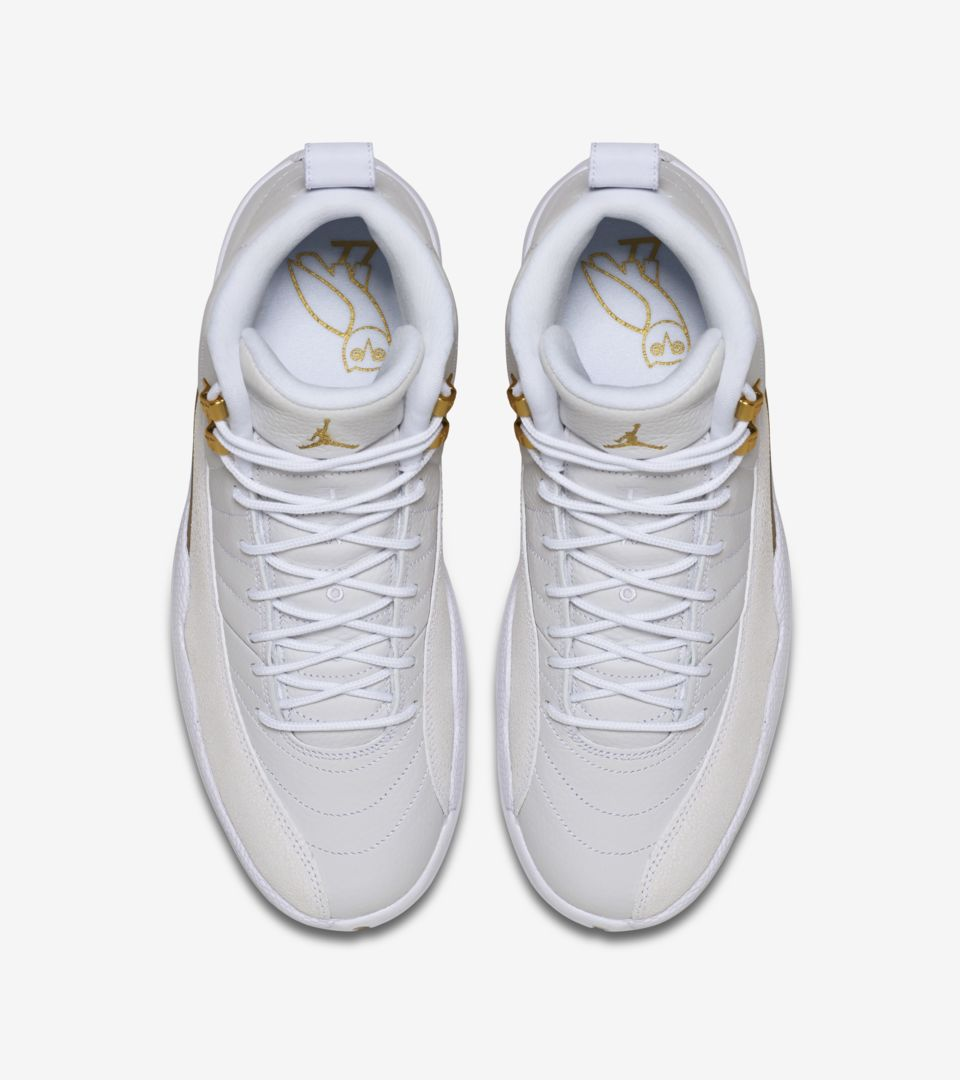 lowest price 34a28 ab407 Air Jordan 12 OVO 'White & Metallic Gold' Release Date. Nike ...
