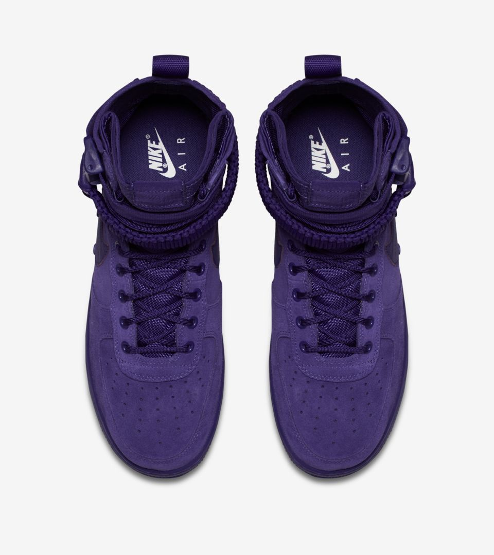 brand new 23ba3 a23d5 Nike SF AF-1 Court Purple Release Date. Nike+ SNKRS