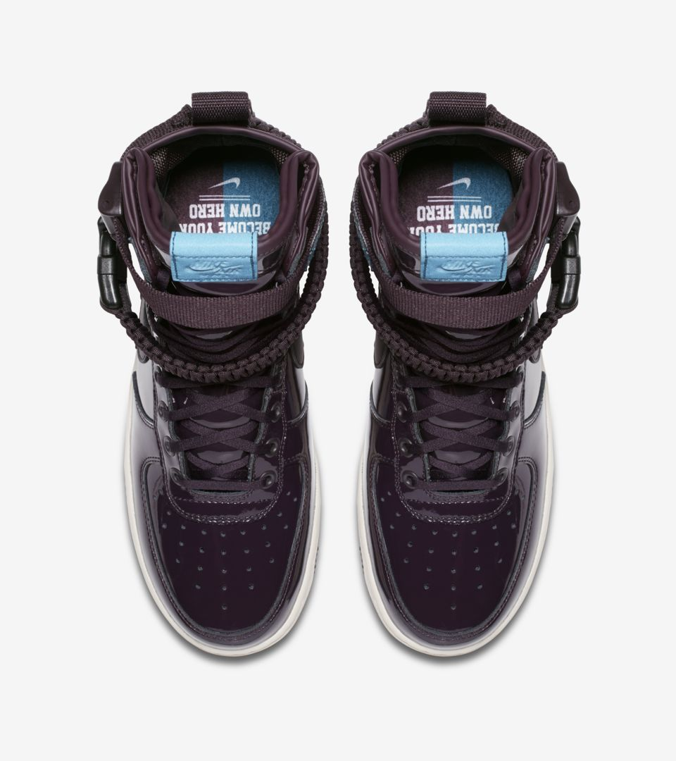 buy online e815b 6a3a4 Women's Nike SF AF-1 Premium 'Port Wine' Release Date. Nike+ SNKRS