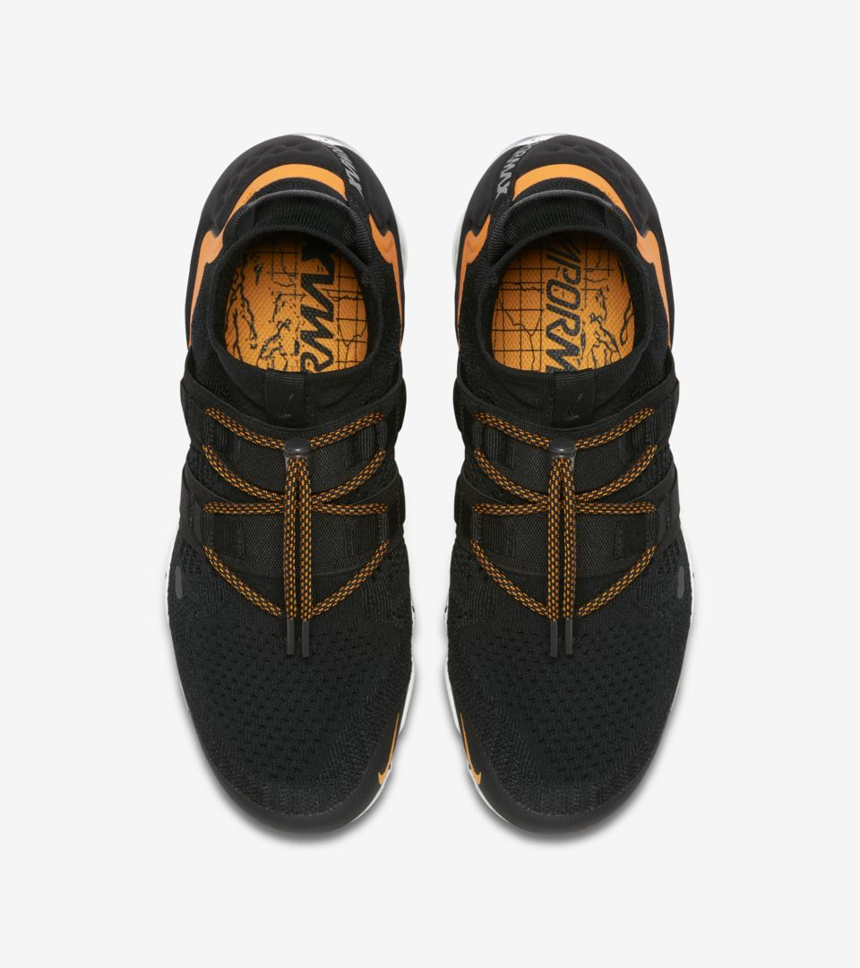 2e0d2fdd7cb6 Nike Air Vapormax Utility  Black   Orange Peel  Release Date. Nike+ ...
