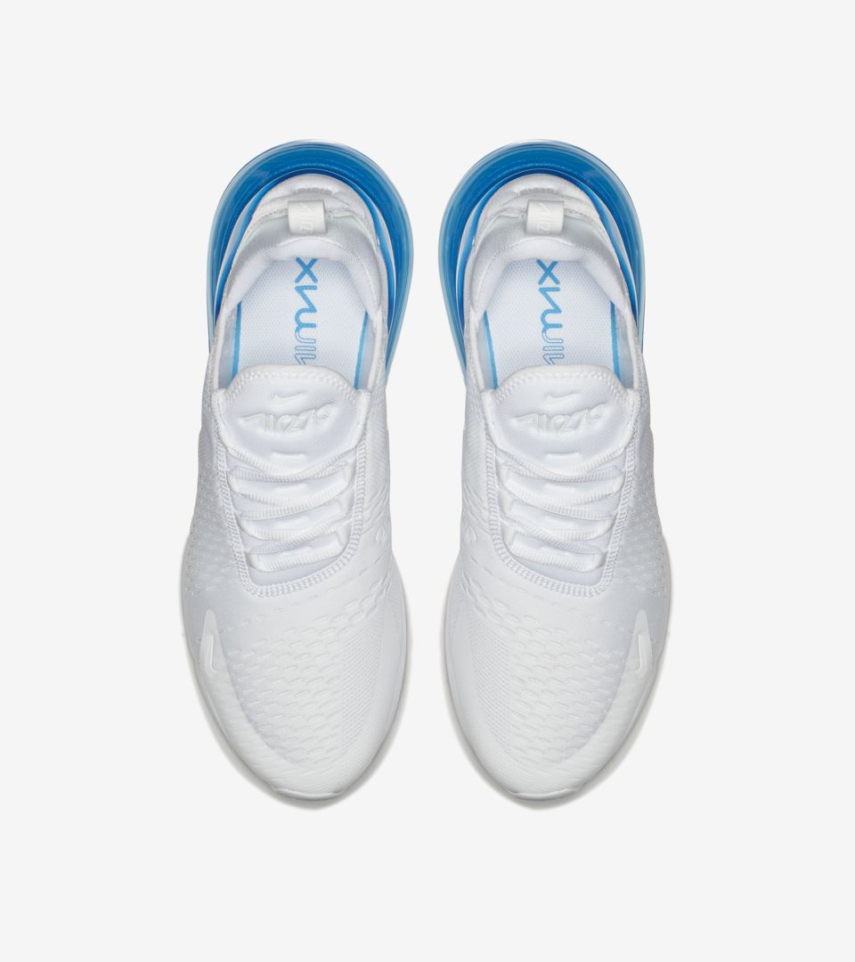 1937f684257e Nike Air Max 270 White Pack  Photo Blue  Release Date. Nike⁠+ SNKRS