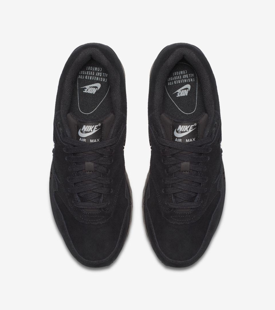 Nike Women's Air Max 1 Premium 'Black & Metallic Silver