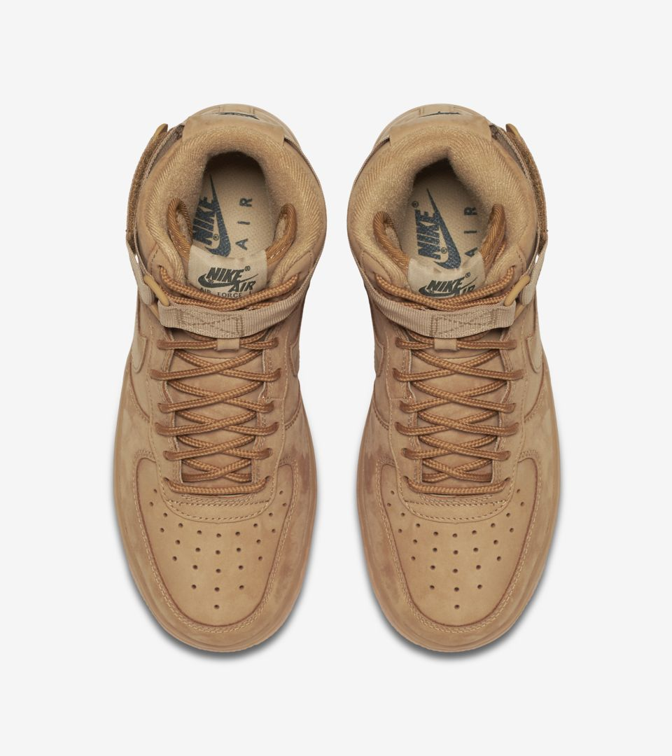 Women's Nike Air Force 1 High 'Flax'. Nike⁠+ Launch DK